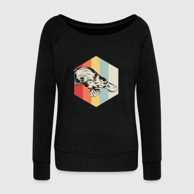 Polygon Platypus - Women's Wideneck Sweatshirt