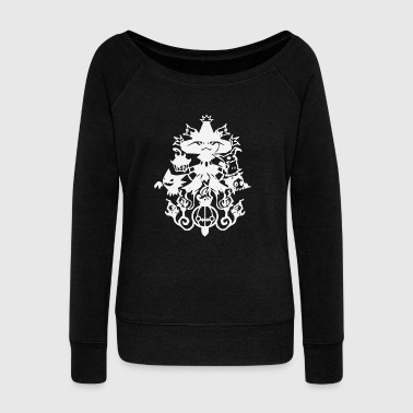 Ghostly Group - Women's Wideneck Sweatshirt