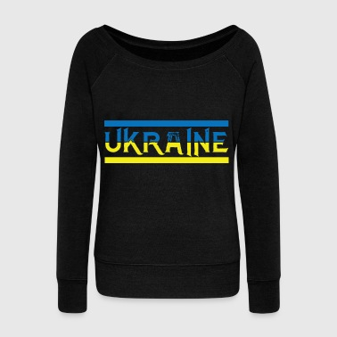 Ukraine - Women's Wideneck Sweatshirt