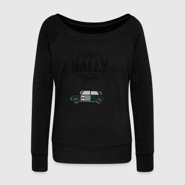 Vintage Rally - Women's Wideneck Sweatshirt