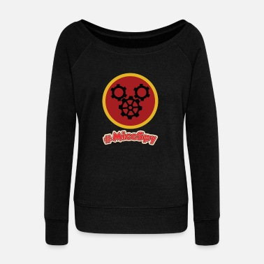 Gag Gag Factory Explorer Badge - Women's Wideneck Sweatshirt