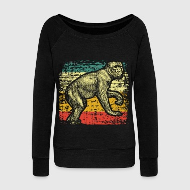 Primate Monkeys primate - Women's Wideneck Sweatshirt