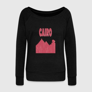 Cairo City - Women's Wideneck Sweatshirt