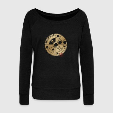 Cropped Crop circle 59 - Women's Wideneck Sweatshirt