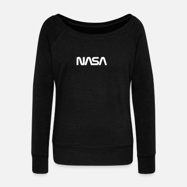 Nasa Brand New Nasa - Women's Wide-Neck Sweatshirt
