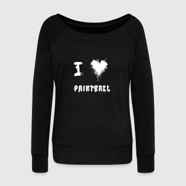 paintball - Women's Wideneck Sweatshirt