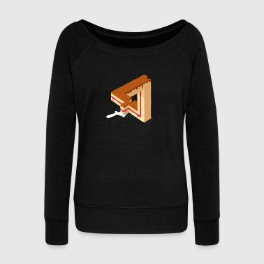 Layer Cake - Women's Wideneck Sweatshirt