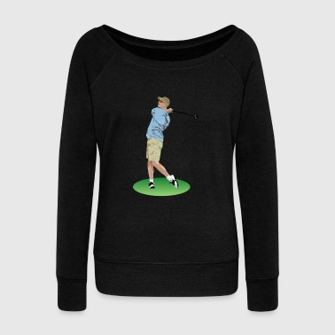 Golf - Women's Wideneck Sweatshirt