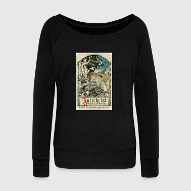 Antichrist Movie Art - Women's Wideneck Sweatshirt