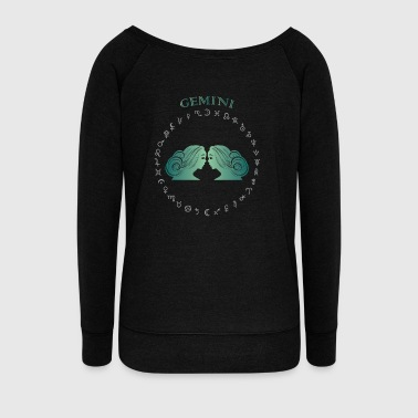 Gemini BP C AvknH - Women's Wideneck Sweatshirt