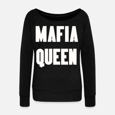 Mafia MAFIA SHIRT - Women's Wide-Neck Sweatshirt