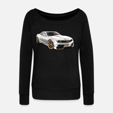 Camaro Ss CAMARO 5TH GEN - Women's Wideneck Sweatshirt