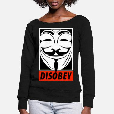 Anonymous Anonymous Obey - Women's Wide-Neck Sweatshirt
