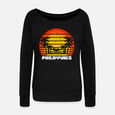 South East Asia Philippines South East Asia - Women's Wideneck Sweatshirt