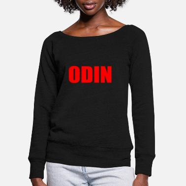 Odin ODIN - Women's Wide-Neck Sweatshirt