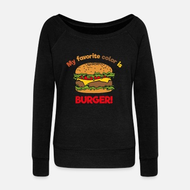 My favorite color is Burger! Women's Premium T-Shirt