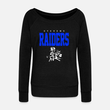 Raider Raiders - Women's Wide-Neck Sweatshirt
