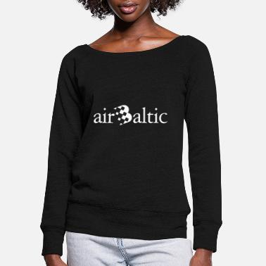 Baltic Sea Air Baltic - Women's Wide-Neck Sweatshirt