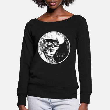 Nickel Womens Nickel Shirt - Women's Wide-Neck Sweatshirt