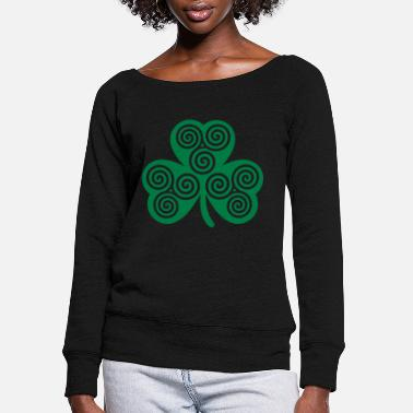 Shamrock Shamrock - Women's Wide-Neck Sweatshirt