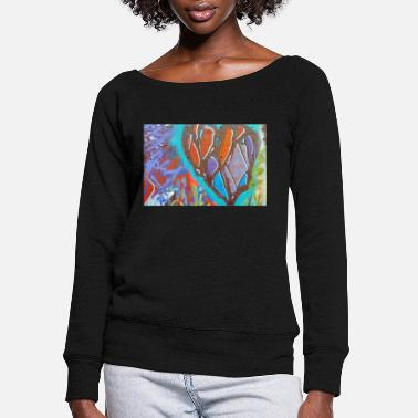 Graffiti6 - Women's Wide-Neck Sweatshirt