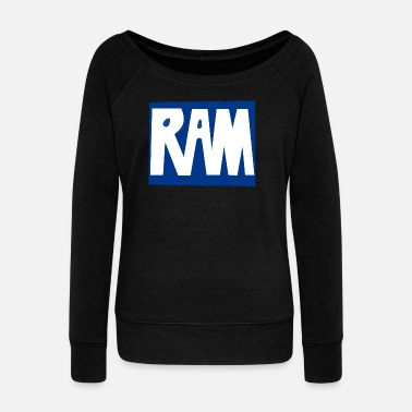 Ram Ram - Women's Wideneck Sweatshirt