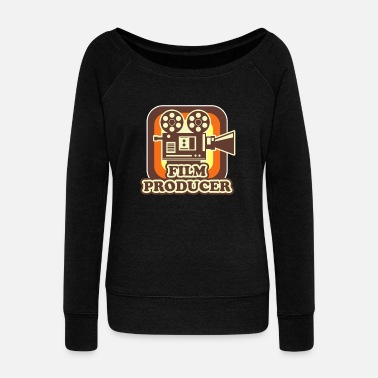 Actress Film Producer - Women's Wideneck Sweatshirt