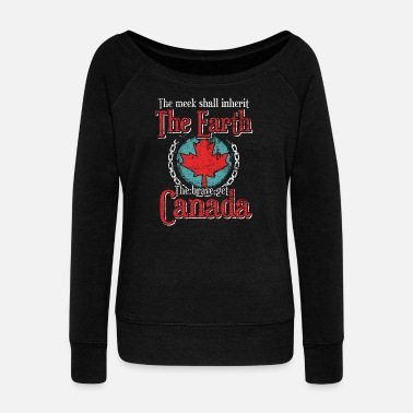 Quebec Canada - Women's Wideneck Sweatshirt