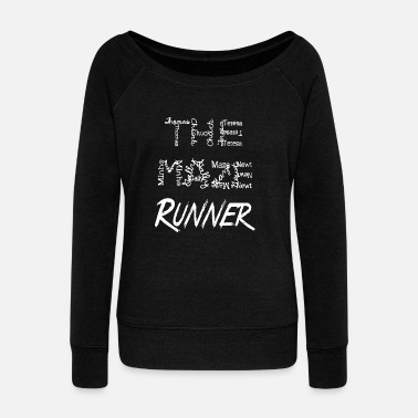 The Maze Runner Runner Tee Shirt - Women's Wide-Neck Sweatshirt