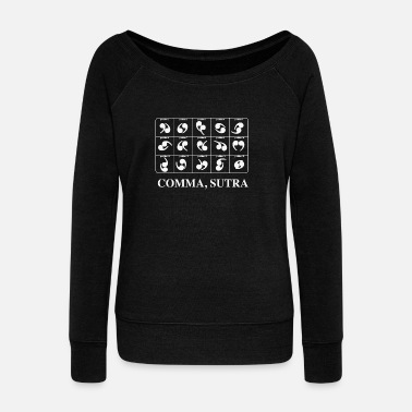 Kama-sutra Comma Sutra - Women's Wideneck Sweatshirt