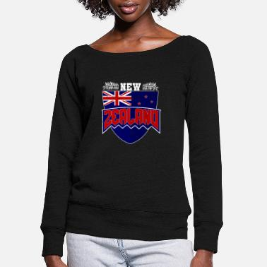 New Age new orleans new age new german states travel - Women's Wide-Neck Sweatshirt