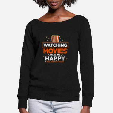 Movies Movie - Women's Wide-Neck Sweatshirt