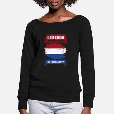 The Netherlands Netherlands - Women's Wide-Neck Sweatshirt