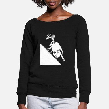 Insect Philpino Insect - Women's Wide-Neck Sweatshirt