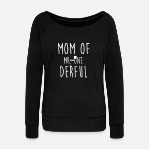Gallery Of First Birthday Outfit For Mom Womens Wide Neck Sweatshirt