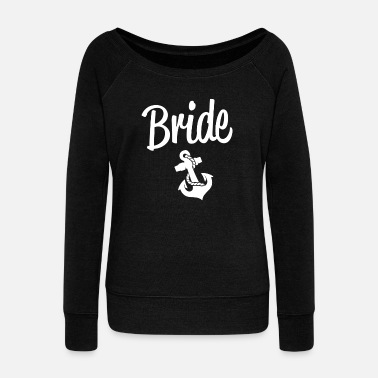 Groom Bride - Women's Wideneck Sweatshirt