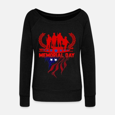 4th Of July 4th of july - Women's Wide-Neck Sweatshirt