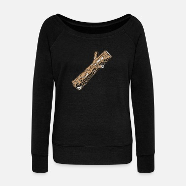 Log Log - Women's Wideneck Sweatshirt