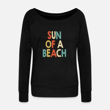 Volleyball Sun of a beach - Women's Wideneck Sweatshirt