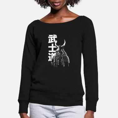 Samurai Samurai - Women's Wide-Neck Sweatshirt