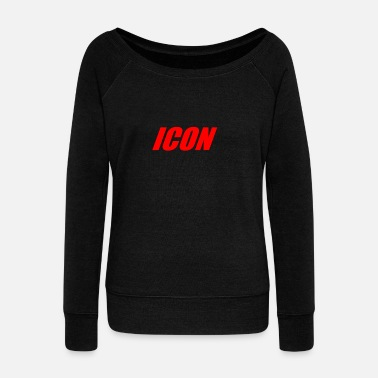 Icon ICON - Women's Wide-Neck Sweatshirt