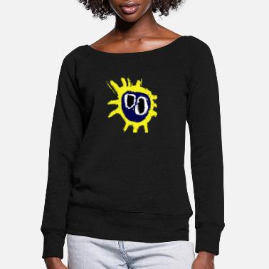 Primal primal scream - Women's Wide-Neck Sweatshirt