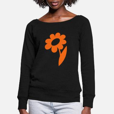 Blume blume- - Women's Wide-Neck Sweatshirt