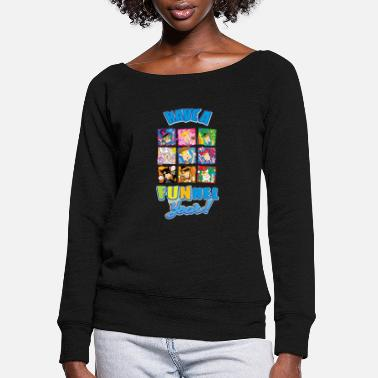 Funnel Vision Have a FUNnel Year - Women's Wide-Neck Sweatshirt