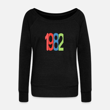 1982 1982 - Women's Wideneck Sweatshirt