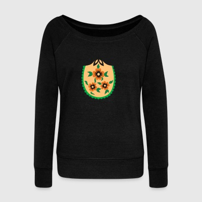 Russian Nesting Doll - Women's Wideneck Sweatshirt
