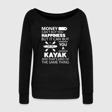 Kayak Happiness Shirts - Women's Wideneck Sweatshirt