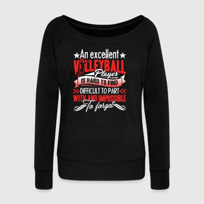 Volleyball Player Shirt - Women's Wideneck Sweatshirt