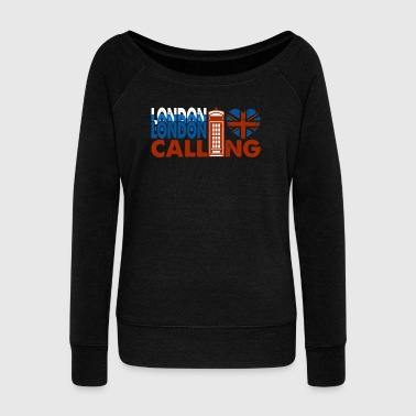 LONDON CALLING SHIRT - Women's Wideneck Sweatshirt