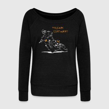 Supermoto Motard Drift - Women's Wideneck Sweatshirt